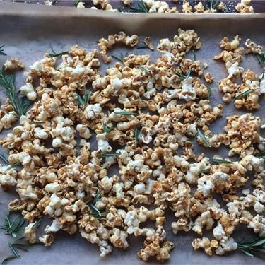Rosemary Caramel Corn Recipe | SideChef