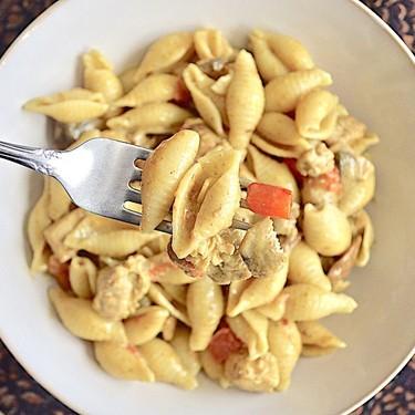 Coconut Curry Chicken Pasta Recipe | SideChef