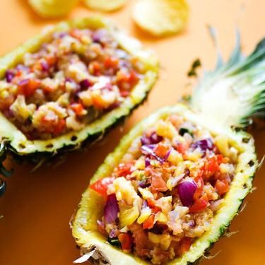 Grilled Pineapple Salsa Recipe   SideChef