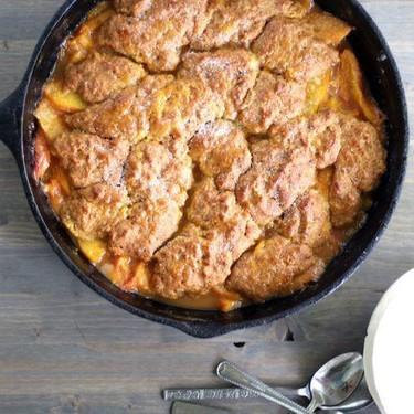Biscuit Peach Cobbler Recipe   SideChef