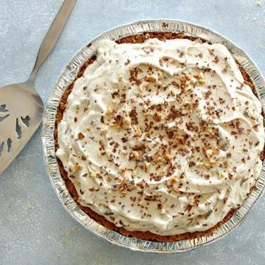 Chocolate Chip Peanut Butter Ice Cream Pie Recipe | SideChef