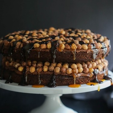 Reese's Puffs with Chocolate Cake Recipe | SideChef