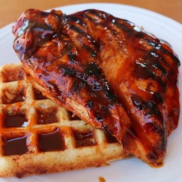 BBQ Chicken and Waffles Recipe   SideChef