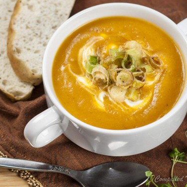 Roasted Tomato Pumpkin Soup Recipe   SideChef