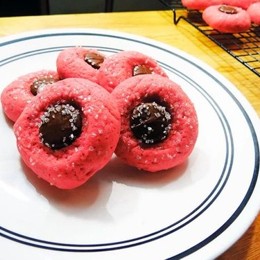 Vanilla Bean Chocolate Button Sugar Cookies Recipe   SideChef
