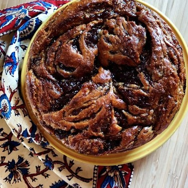 Almond Butter and Jam Banana Cake Recipe | SideChef
