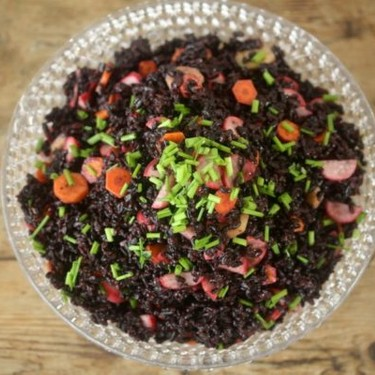Forbidden Rice Salad with Pickled Vegetables Recipe   SideChef