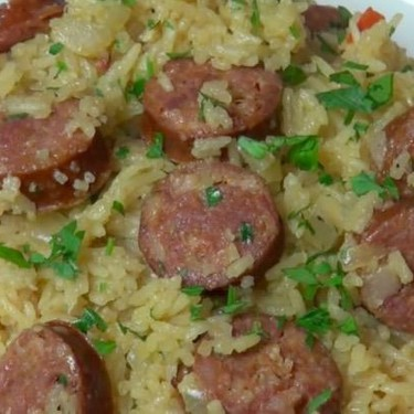 Chorizo Pilaf Recipe   SideChef