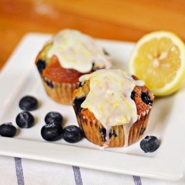 Lemon Blueberry Muffins Recipe   SideChef