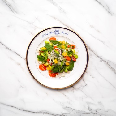 Steamed Spring Vegetable Salad with Sherry-Honey Dressing Recipe   SideChef