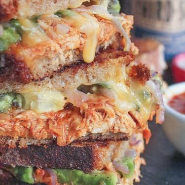 Barbecue Chicken Grilled Cheese Recipe | SideChef