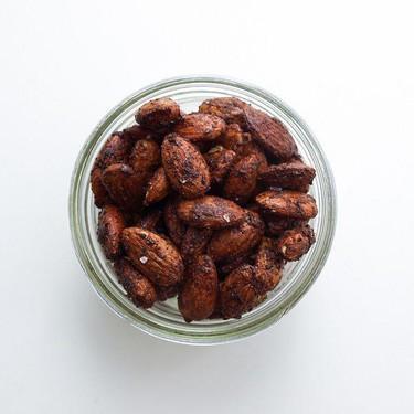 Chocolate Chai Roasted Almonds Recipe   SideChef