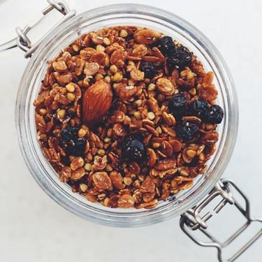 Gre3n Coconut Oil Blueberry & Buckwheat Granola Recipe | SideChef