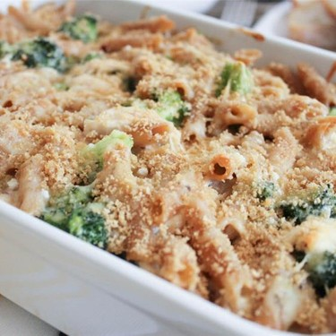 Cheesy Baked Penne with Chicken and Broccoli Recipe   SideChef