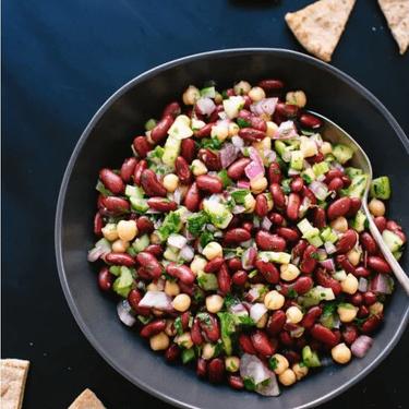 Lemon Parsley Bean Salad Recipe   SideChef