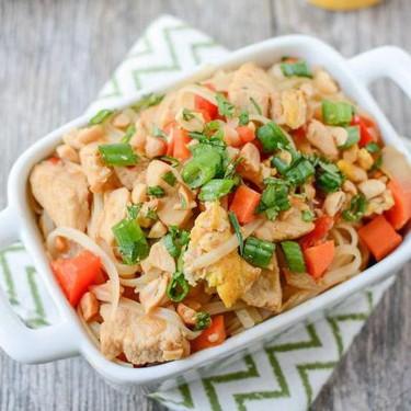 Easy Chicken Pad Thai Recipe   SideChef