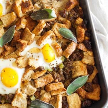 Maple Breakfast Stuffing with Sausage Recipe   SideChef