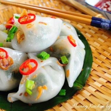 Ku Chai Kuih (Steamed Chive Dumplings) 蒸韭菜粿 Recipe | SideChef