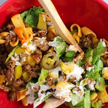 Easy Taco Salad Recipe   SideChef