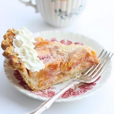 Peaches and Cream Pie Recipe   SideChef