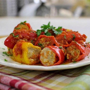 Mini Stuffed Peppers Recipe | SideChef