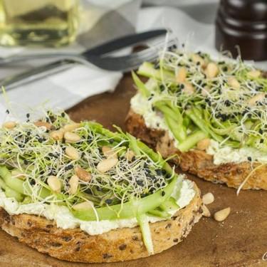 Fresh Asparagus Toast Recipe   SideChef