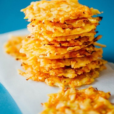 Gouda Cheese Crisps with Carrots Recipe | SideChef