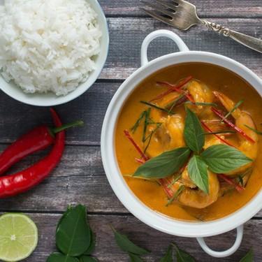 Easy Thai Curry Shrimp Recipe | SideChef