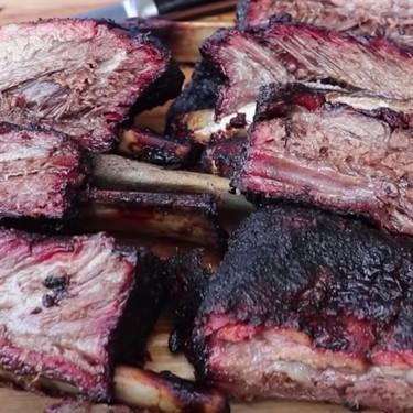 Smoked Mojo Beef Ribs Recipe | SideChef