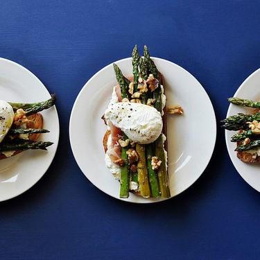 Roasted Asparagus Sandwiches Recipe | SideChef