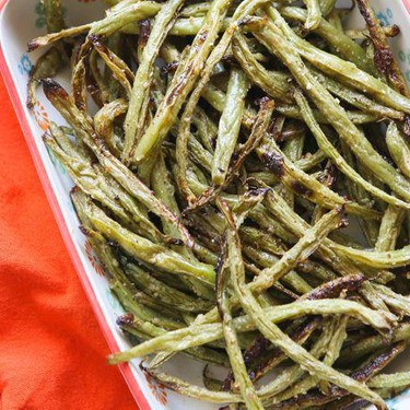Oven-Roasted Parmesan Green Beans Recipe   SideChef