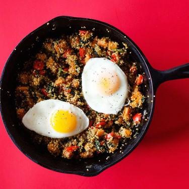 Sweet Potato and Spinach Quinoa Breakfast Skillet Recipe | SideChef