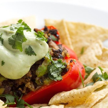 Mexican Style Stuffed Peppers Recipe   SideChef