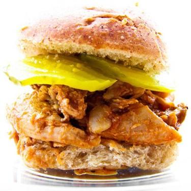 Slow Cooker Pork Sandwiches Recipe   SideChef
