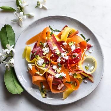 Carrot, Feta and Pistachio Salad with Orange Blossom Toss Recipe | SideChef