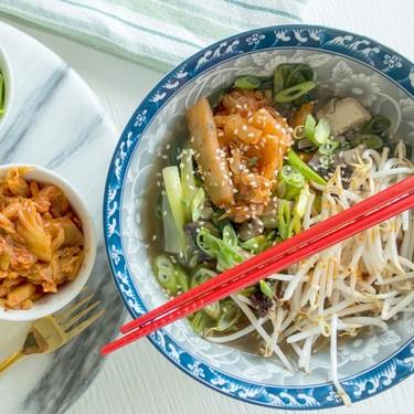 Vegan Mushroom Tofu Hot Pot Recipe | SideChef