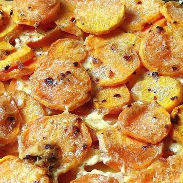 Savory Sweet Potato Gratin Recipe | SideChef