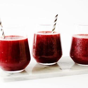 Cherry Rose Slushie (Frosé) Recipe   SideChef