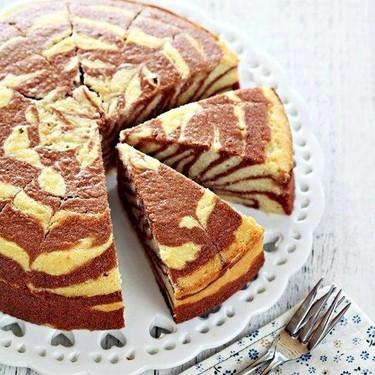 Zebra Butter Cake Recipe | SideChef