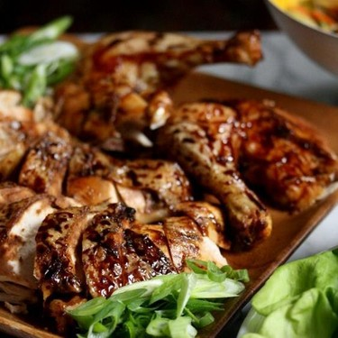 Chinese Five Spice Roasted Peking Chicken Recipe | SideChef