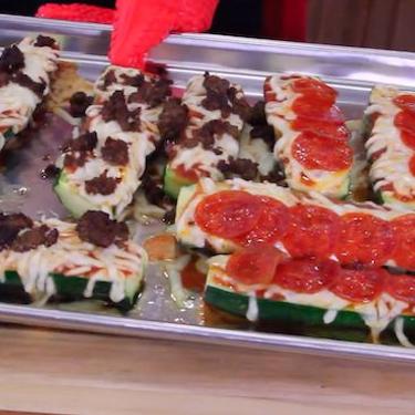 Zucchini Pizza Boats Recipe   SideChef