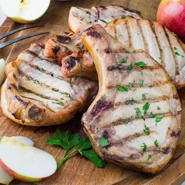Brined, Grilled Pork Chops Recipe | SideChef