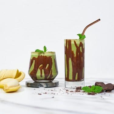 Healthy Mint Chocolate Chip Smoothie Recipe | SideChef