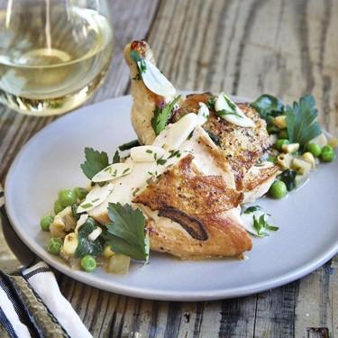 Flattened Chicken with Corn Succota Recipe   SideChef
