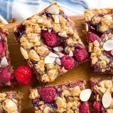 Homemade Raspberry Breakfast Bars Recipe   SideChef