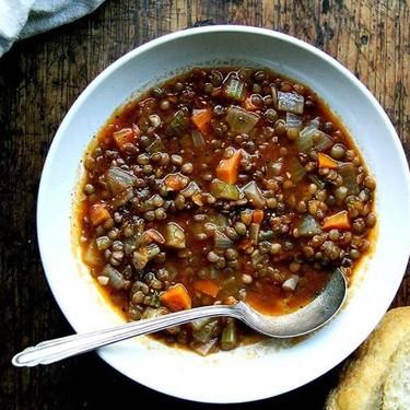 One-Pot Vegan Lentil Soup Recipe   SideChef