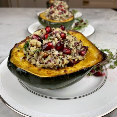 Acorn Squash Quinoa Bowl Recipe   SideChef