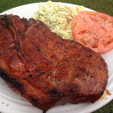 Apple Brined Smoked Pork Steaks Recipe   SideChef