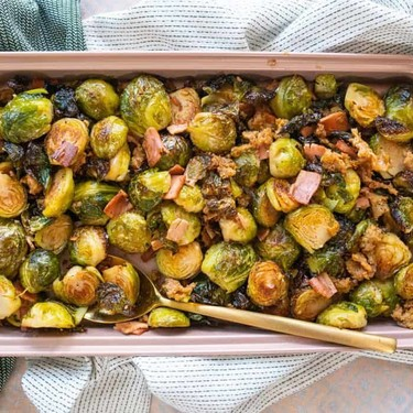 Oven Roasted Brussels Sprouts Recipe   SideChef