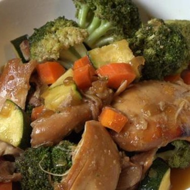 Slow Cooker Chicken Teriyaki with Vegetables Recipe   SideChef